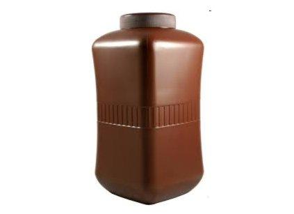 standard urn received from crematorium