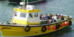 Scarborough boat for scattering ashes