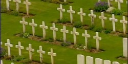 ashes intered on commission graves