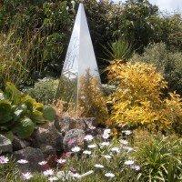 Pyramis Memorial Garden Sculpture
