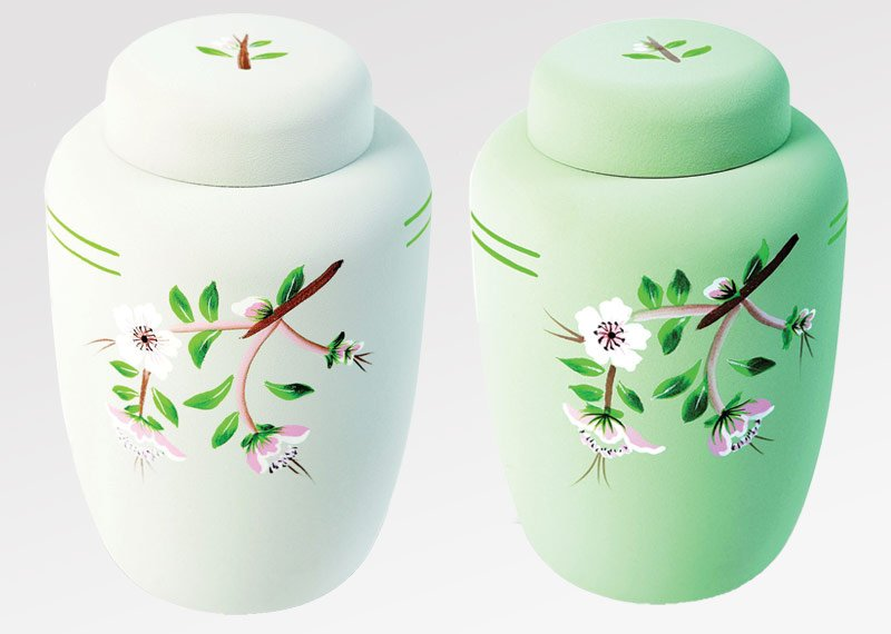 eco urns ashes natural burial