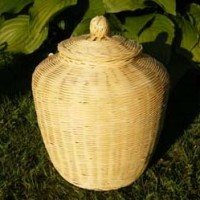Fairtrade Bamboo Urn