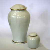 White Porcelain Urn