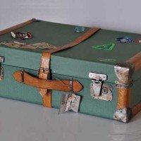 Handmade Suitcase Urn