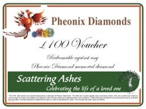 ashes into diamond voucher