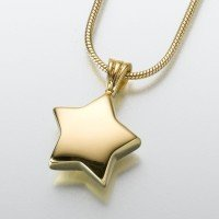 Premium Ash Pendant – Star