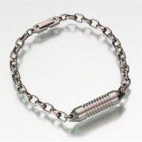 Premium Titanium Memorial Bracelet