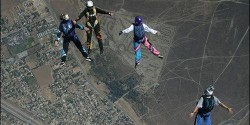 cremains ashes skydive