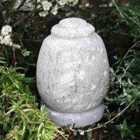 Natural Lava Stone Garden Urn: Phragma