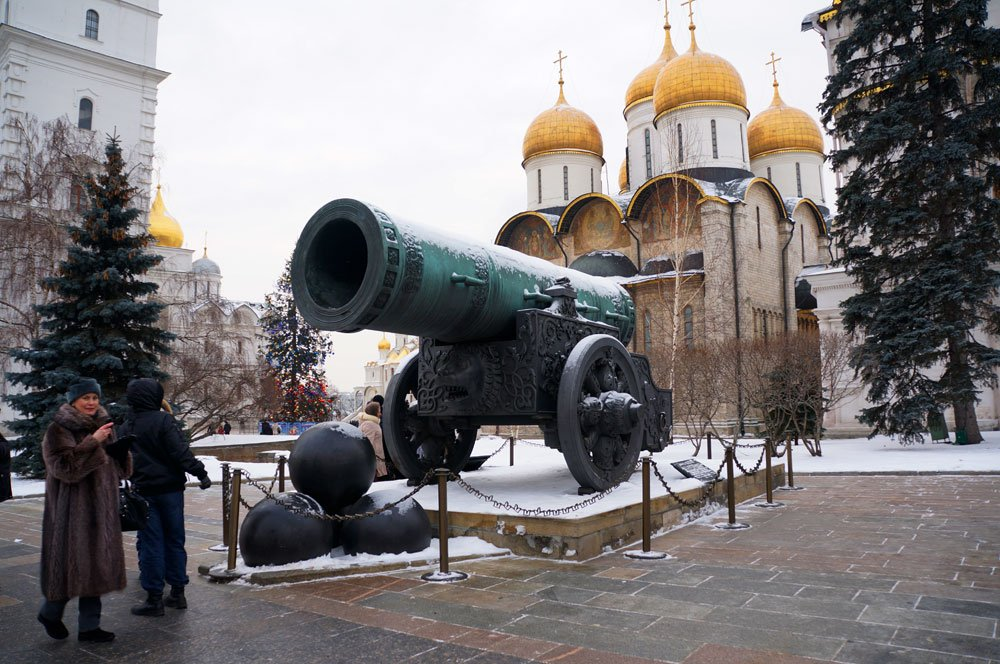 tsar cannon that shot false dmetiry