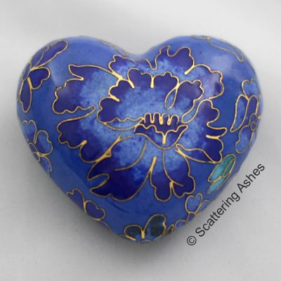 Blue Heart Keepsake
