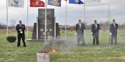 kentucky vetrans retiring flag
