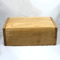 The Bearacleave – Two Person Natural Wood Urn