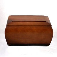 Wood Urn Coffre