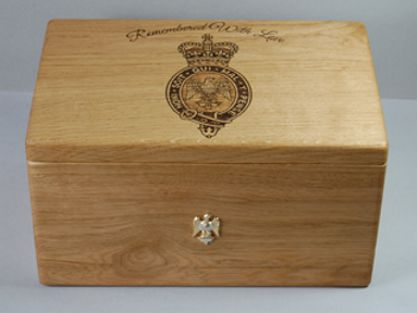 bespoke urn tattoo wood memorial cremation