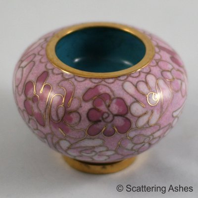 Memorial Candle Holder: Pink