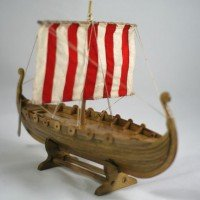 Keepsake Viking Longboat Urn