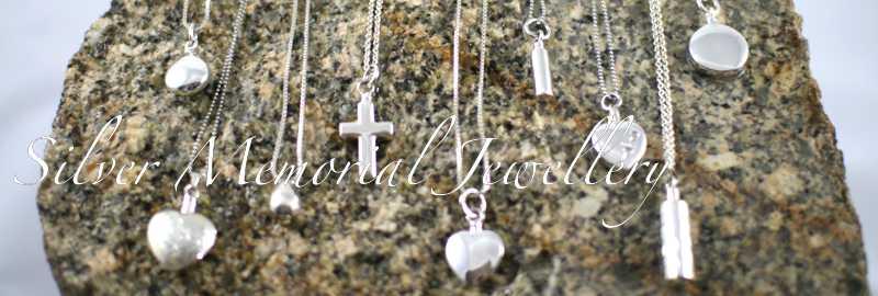 Silver Memorial Jewellery