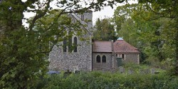 exhumation pensioner Norfolk church yard