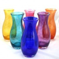 Memorial Glass Vase – Tulip