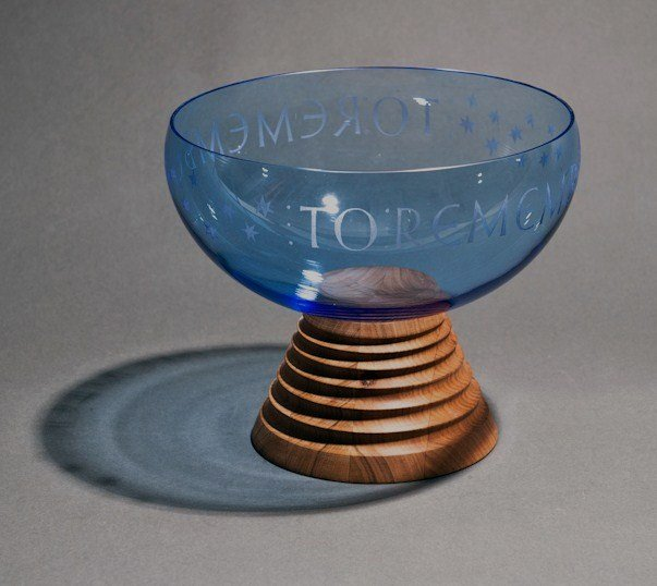 glass keepsake urn