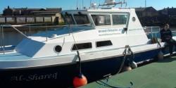 newcastle amble scattering boat