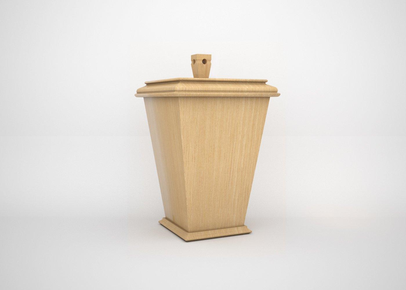 Cremation Niche Wooden Urn
