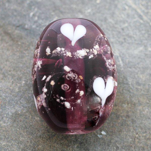 memorial glass bead