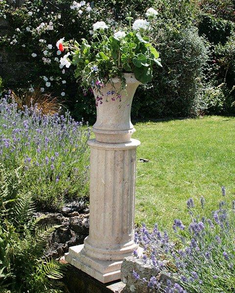 Memorial Garden Planter Keeping Ashes In The Garden