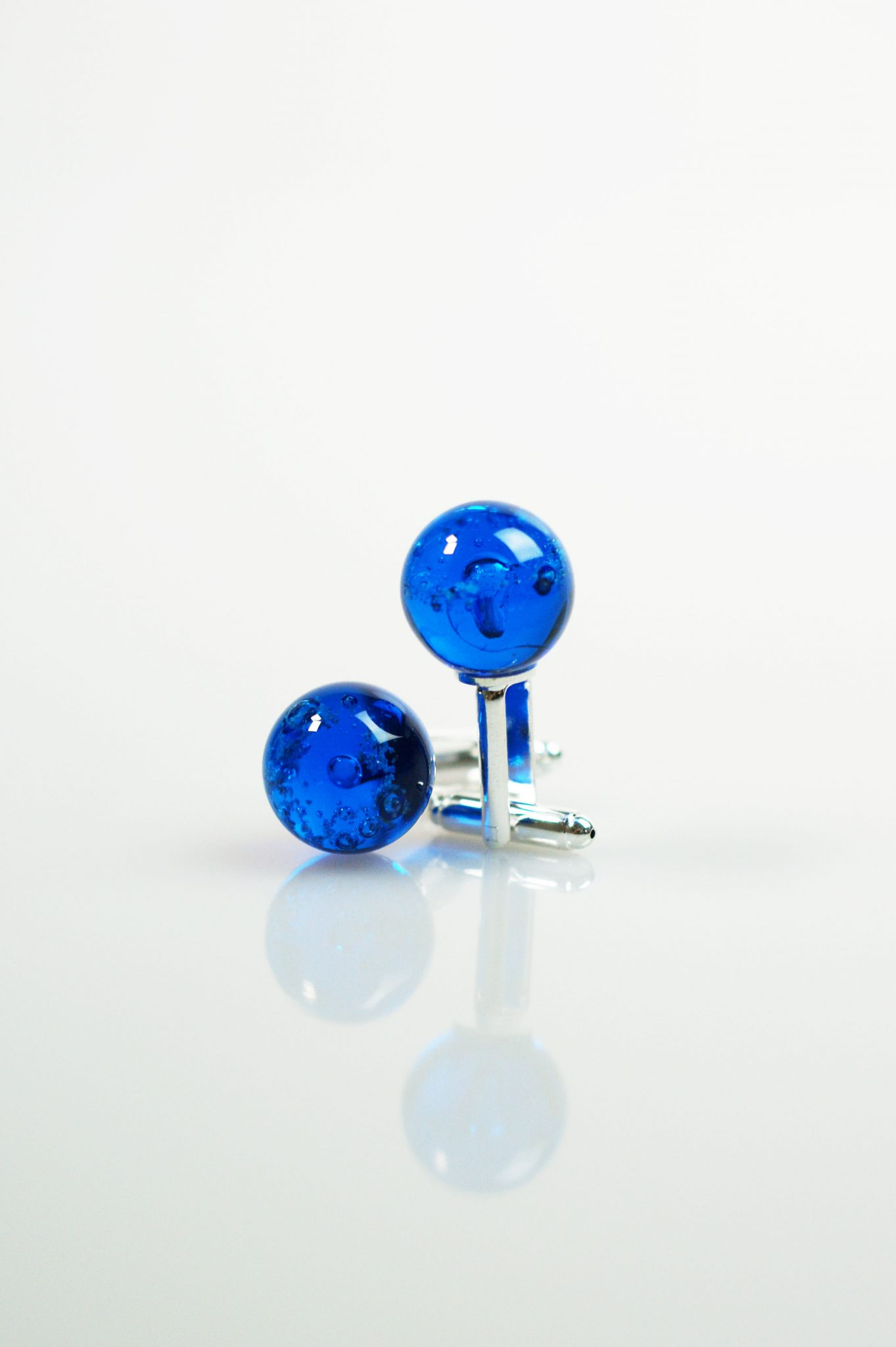 Blue Halo Cufflinks