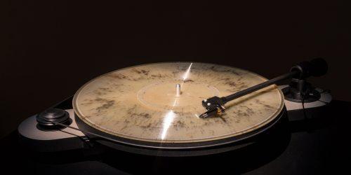 Ashes into Vinyl record